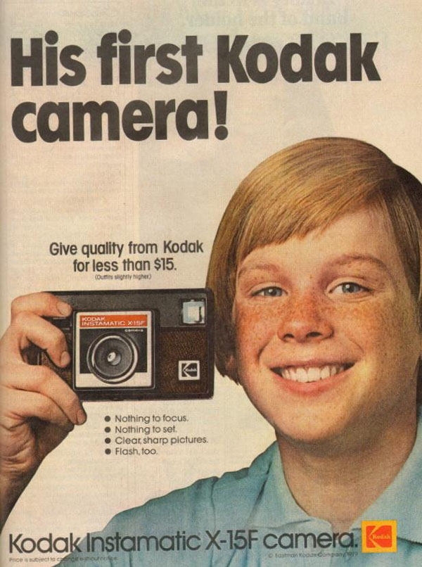 Kodak first camera