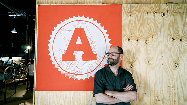 ARTCRANK's founder Charles Youel,, photo by Miguel Angel