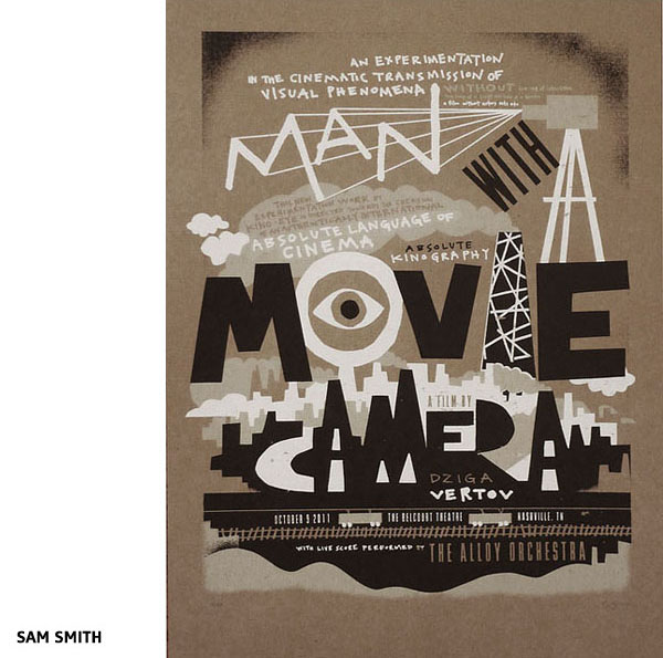 Affiche Man with a movie camera par Sam Smith