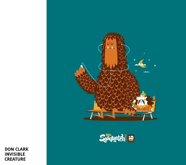 Sasquatch par Invisible Creature