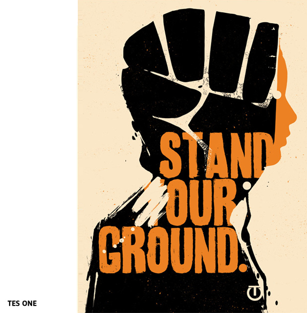 Stand your ground par Tes One