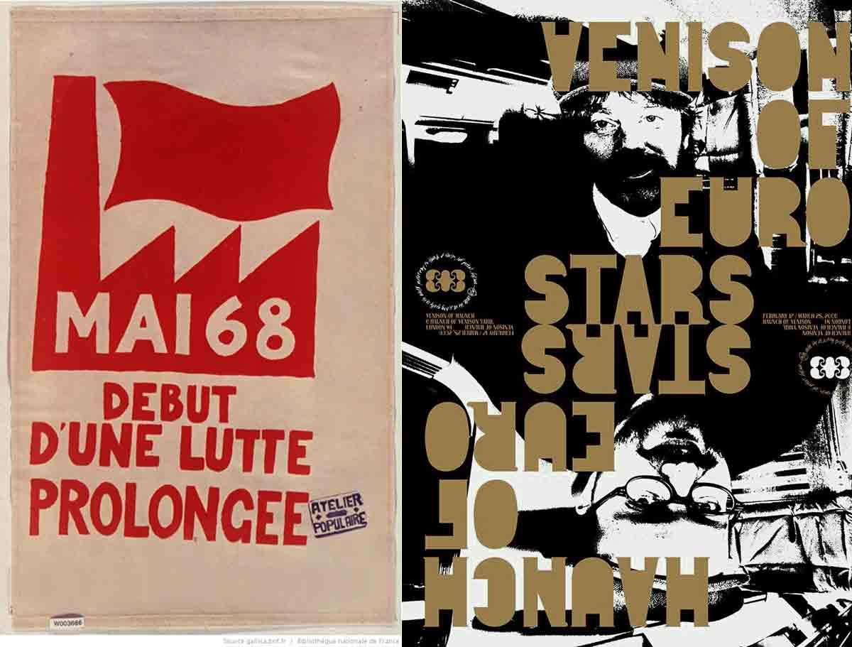 Mai 68 + M/M sérigraphie