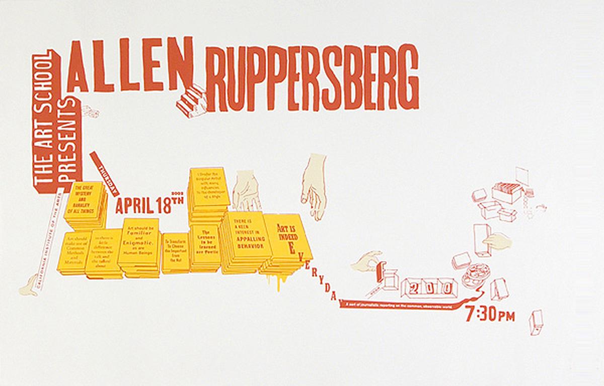 Allen Ruppersberg Poster Jon Sueda