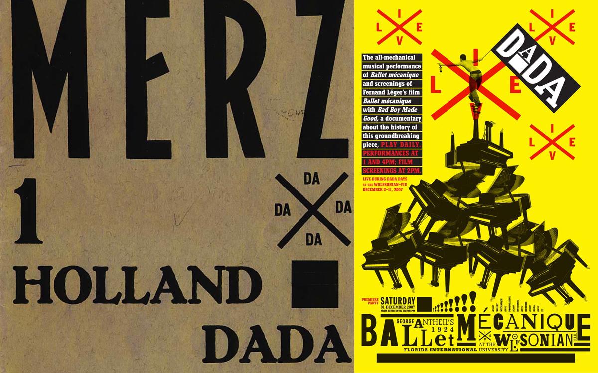 Logo en croix et symbole DADA