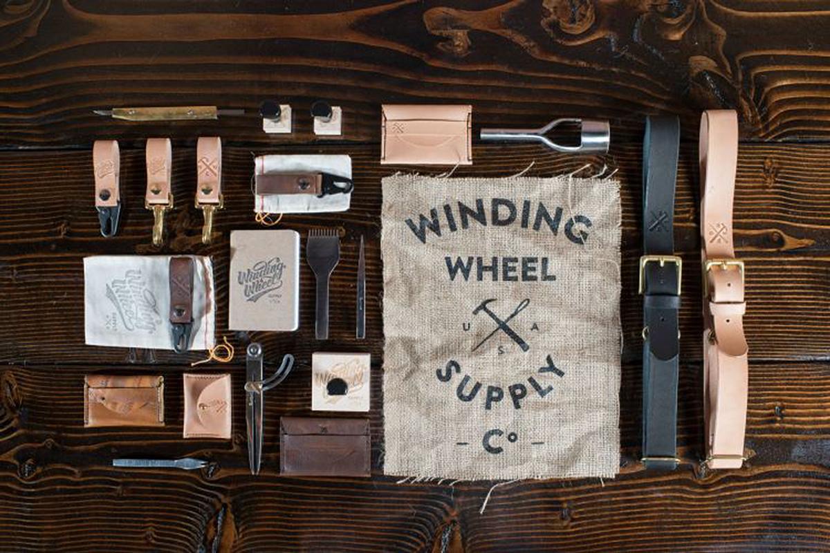 L'entreprise de maroquinerie Winding Wheel Supply