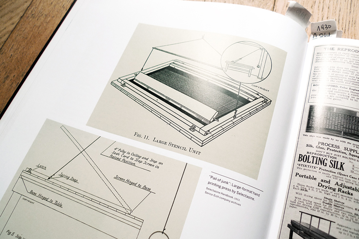 A history of screenprinting Photo © Dezzig