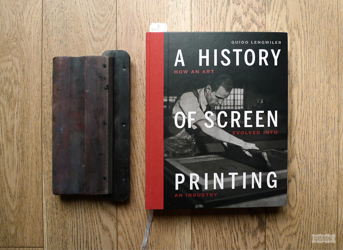 Histoire de la sérigraphie d'art, a history of screenprinting par Guido Lengwiler Photo © Dezzig
