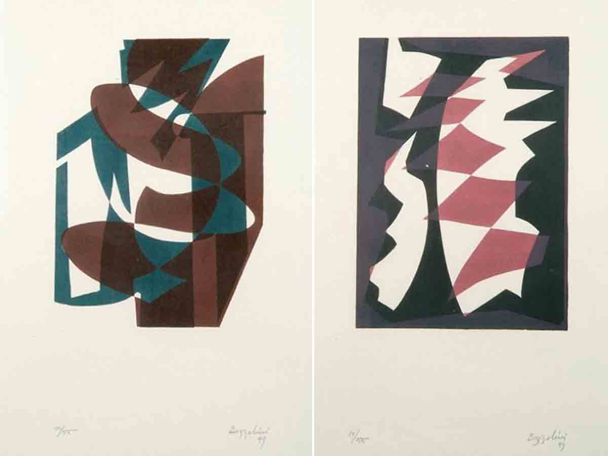 1949, sérigraphies de Silvano Bozzolini