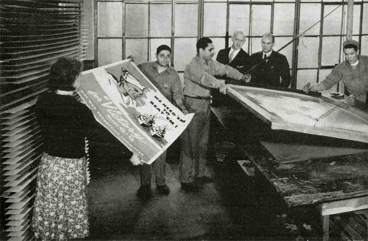 Atelier de Sérigraphie Bryan-Elliott Cie, New-York – 1941