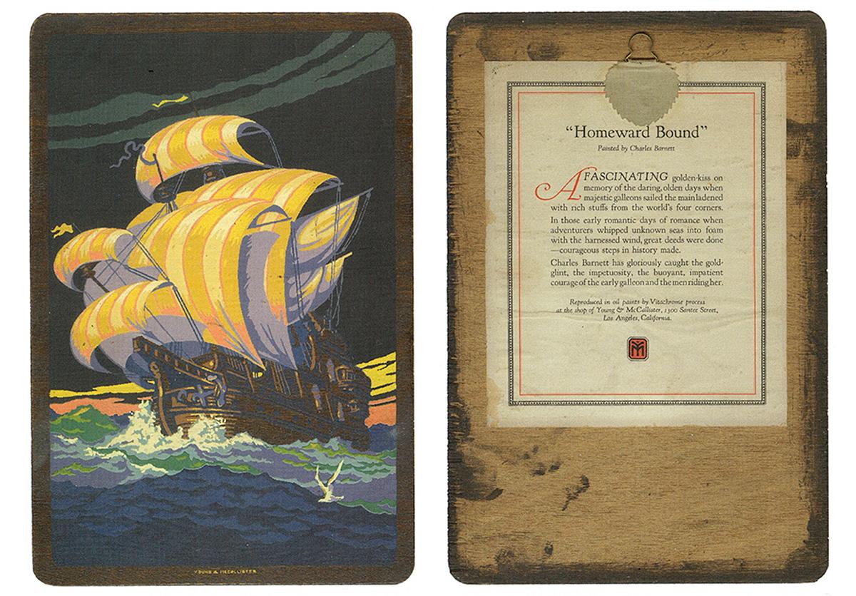 Sérigraphie imprimée par Vitachrome entre 1923 et 1926