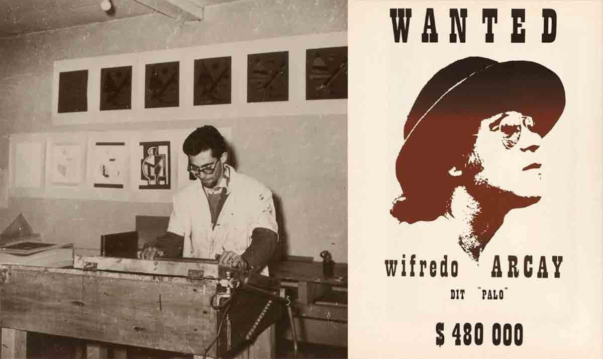 Wifredo Arcay atelier de sérigraphie 1953
