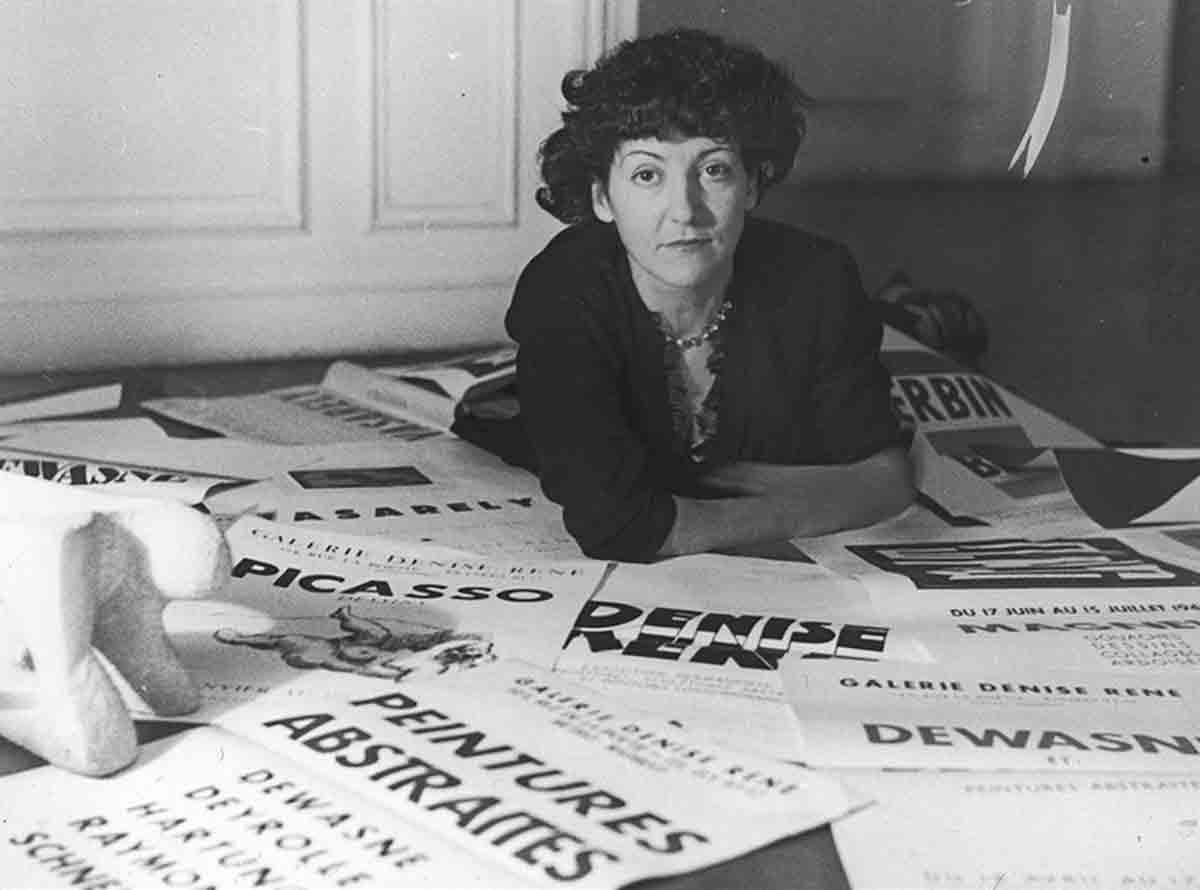 Denise René dans les années 1950