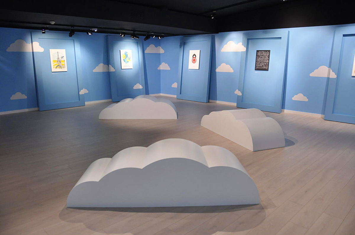 Exposition I Vélib', I can fly + ARTCRANK, scénographie par Emmanuel Prévot