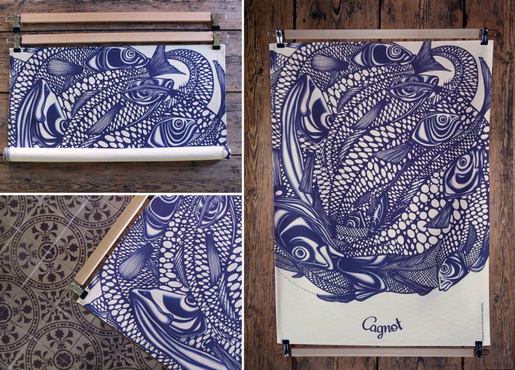 Les toiles décoratives par Gildas Couillon - Cagnot + Poster-pant par Dezzig