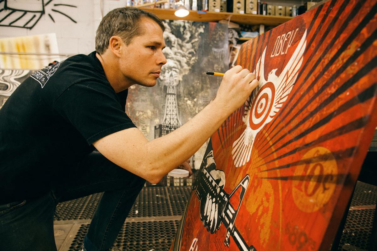 Shepard Fairey Obey atelier
