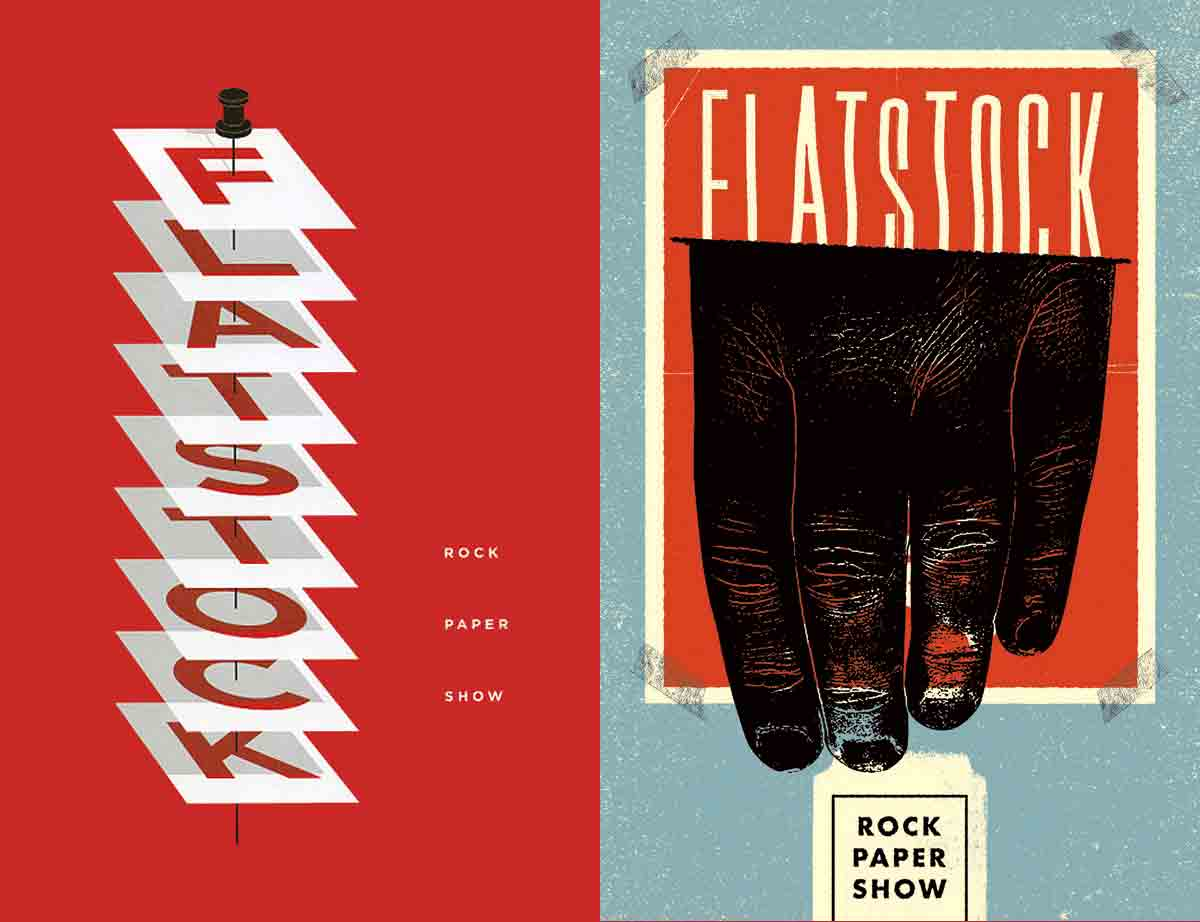 FlatStock gigposters poster