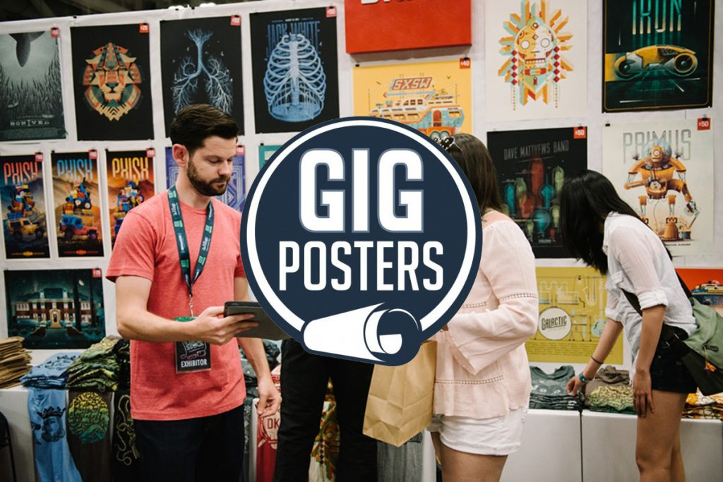 Gigposters rock posters