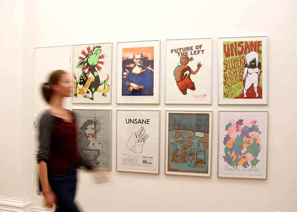 Museum für Kunst und Gewerbe à Hambourg a inauguré en 2015 la première exposition européenne majeure consacrée aux gigposters