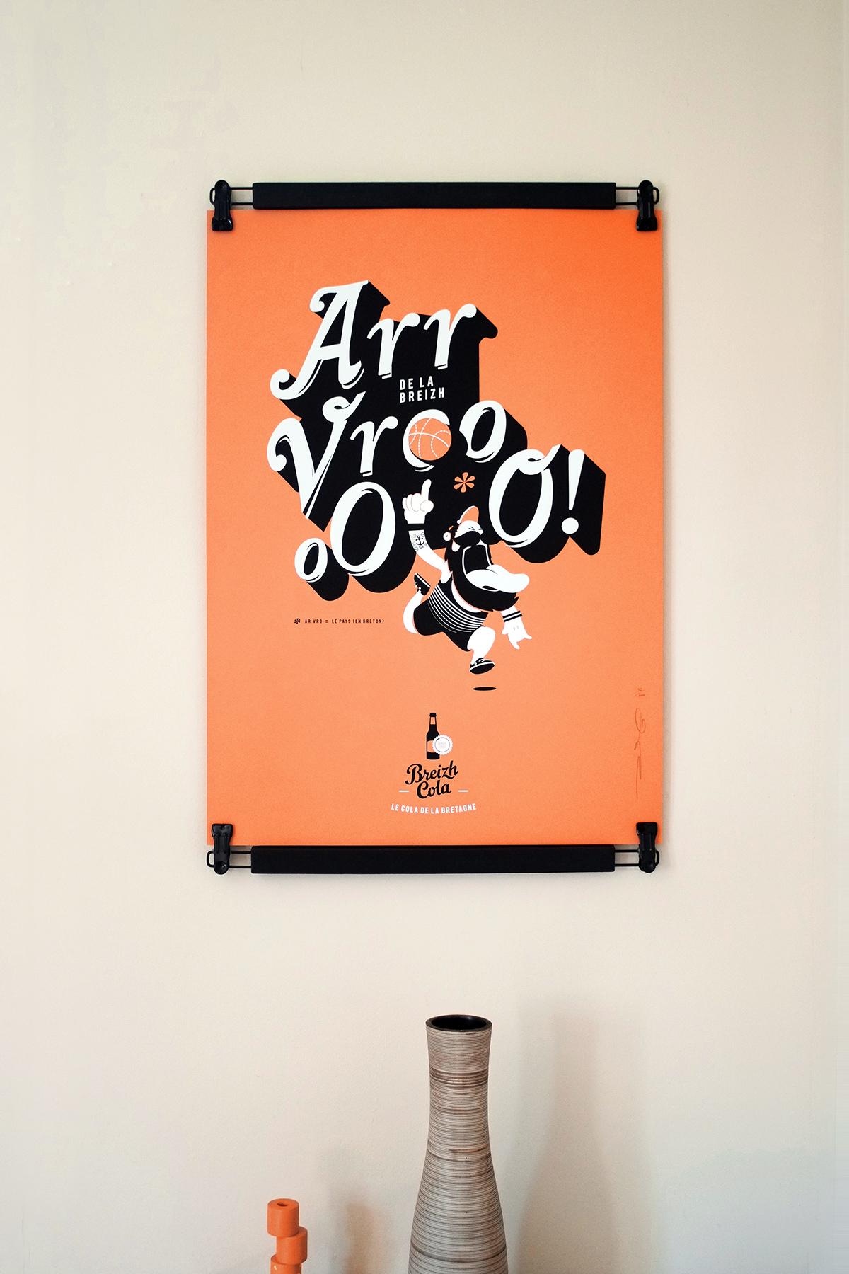 sérigraphie Dezzig + Breizh Cola