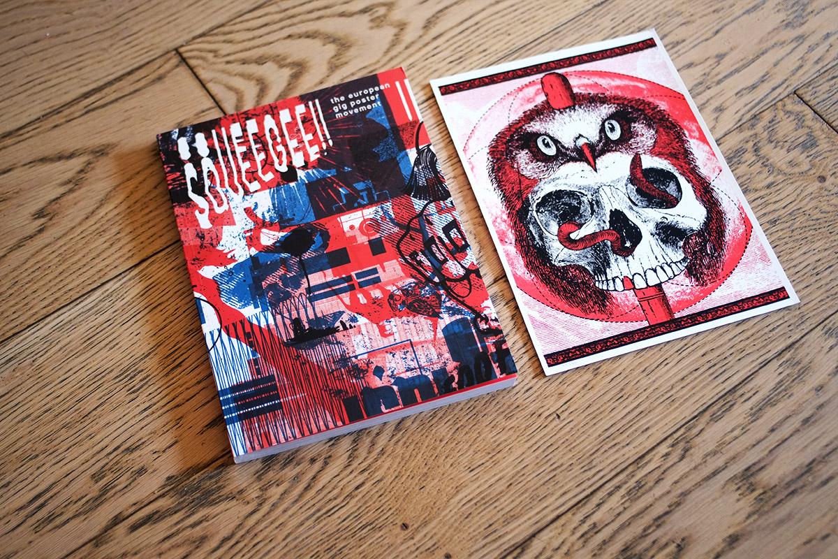 Squeegee, le livre des rocksposters en Europe