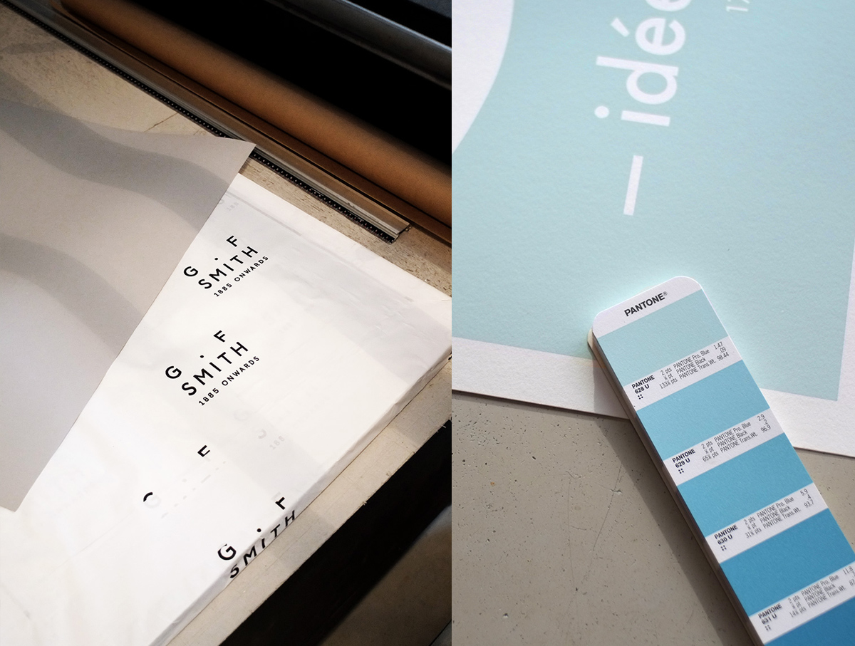 Principes de la sérigraphie d'art dans l'atelier Dezzig en Bretagne