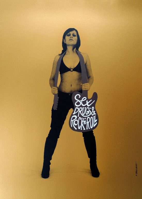 Sex Drugs & Rock'n Roll poster