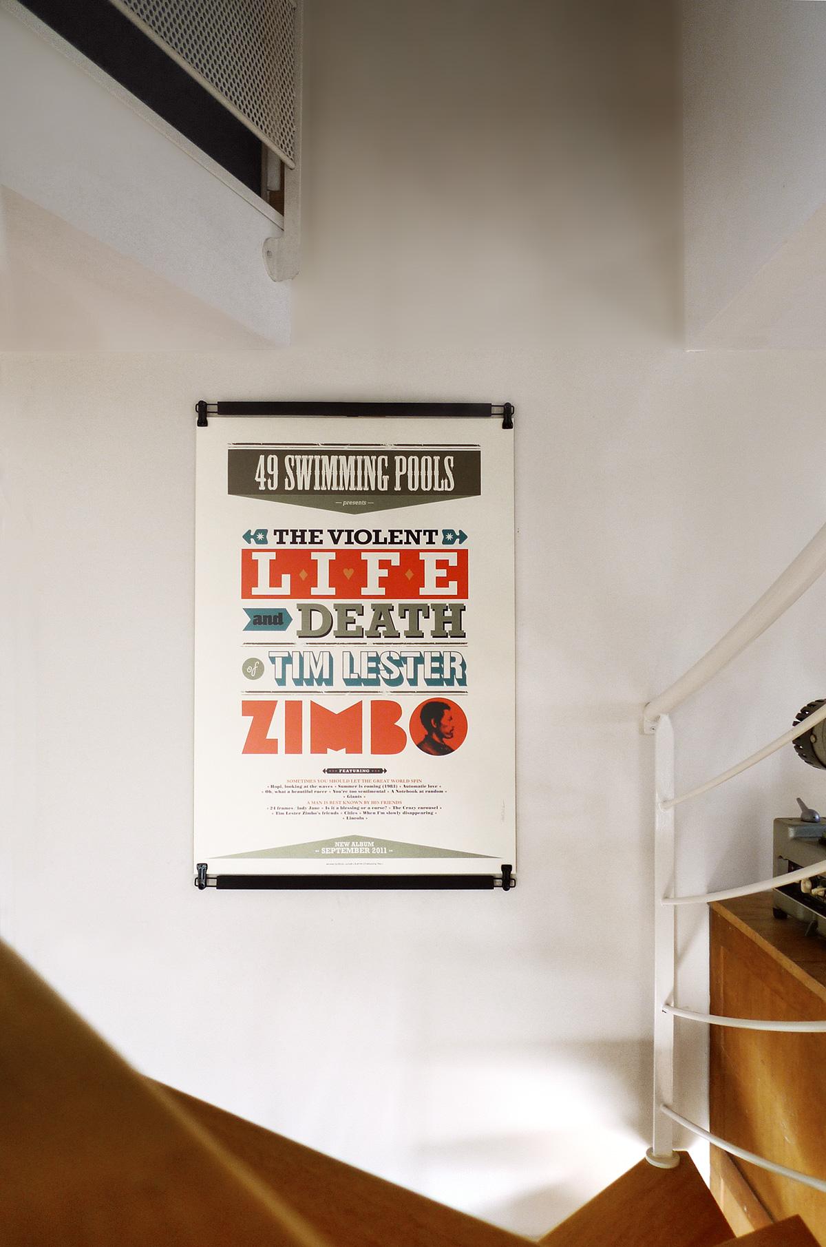 support mural en bois pour affiches poster pant 70 cm. Black Bedroom Furniture Sets. Home Design Ideas