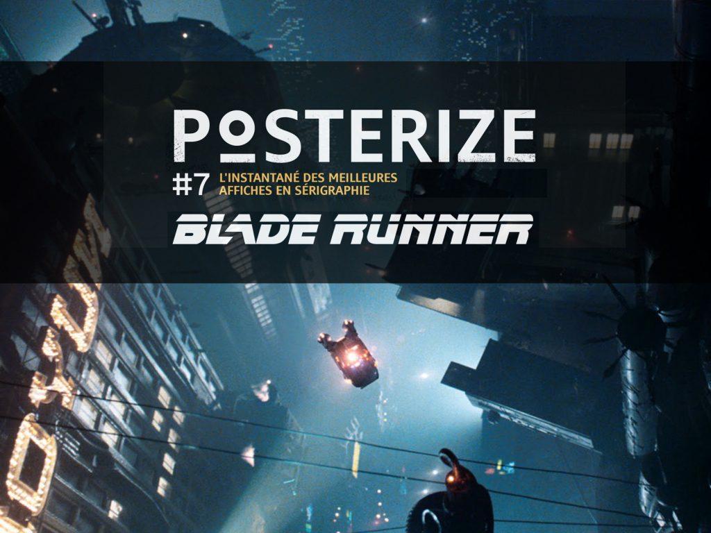 Les plus belles affiches imprimées en sérigraphie en hommage au film Blade Runner