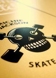 Sérigraphie Skate Pirate Richie Jackson