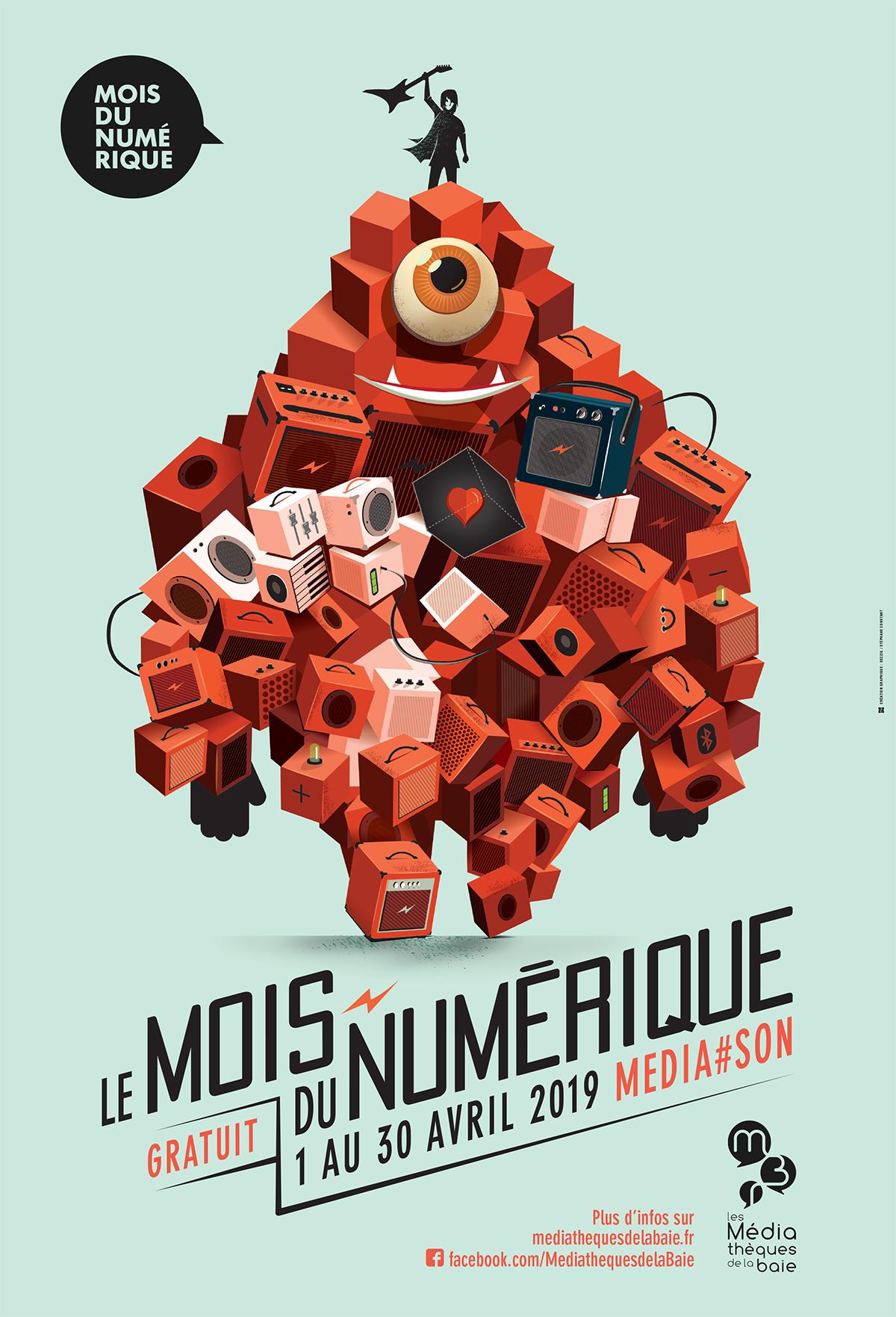 Le mois du numérique 2019 par Stéphane Constant - Dezzig