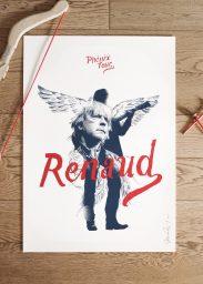 Sérigraphie Renaud Phénix Tour