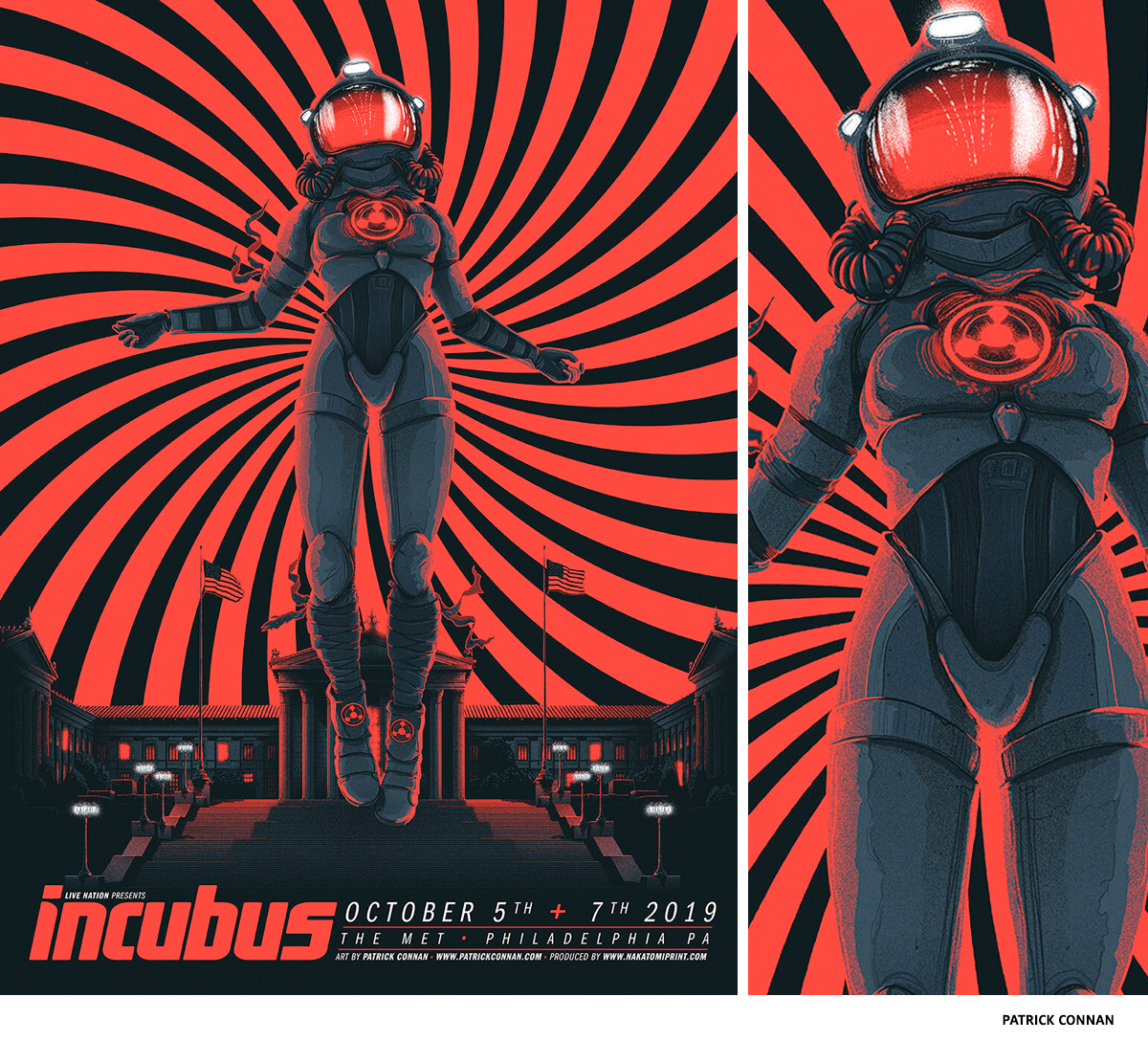 Incubus by Patrick Connan- science-fiction poster