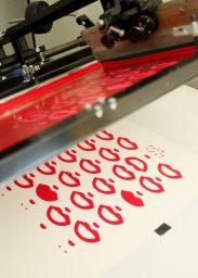 Impression Sérigraphie Easy Blablabla dans l'atelier Dezzig