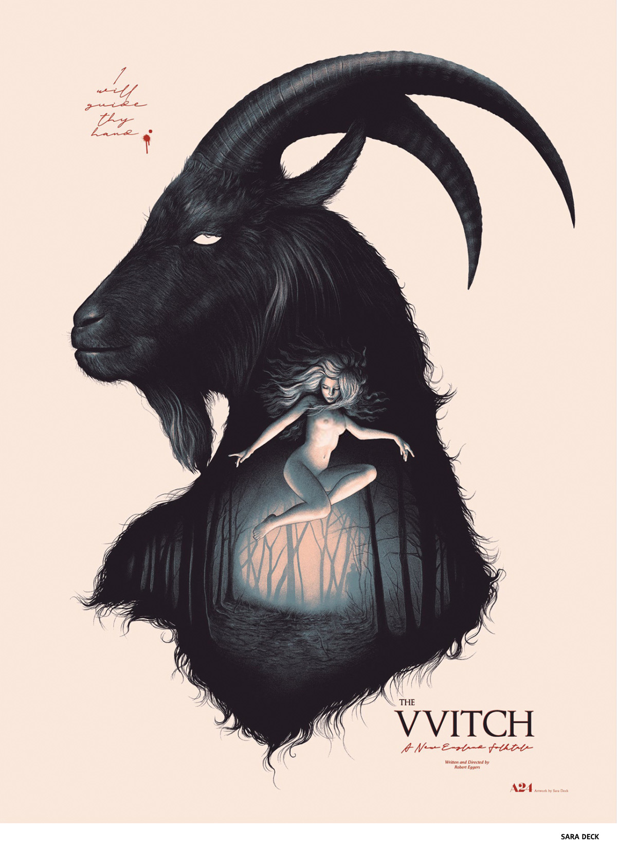 The Witch par Sara Deck