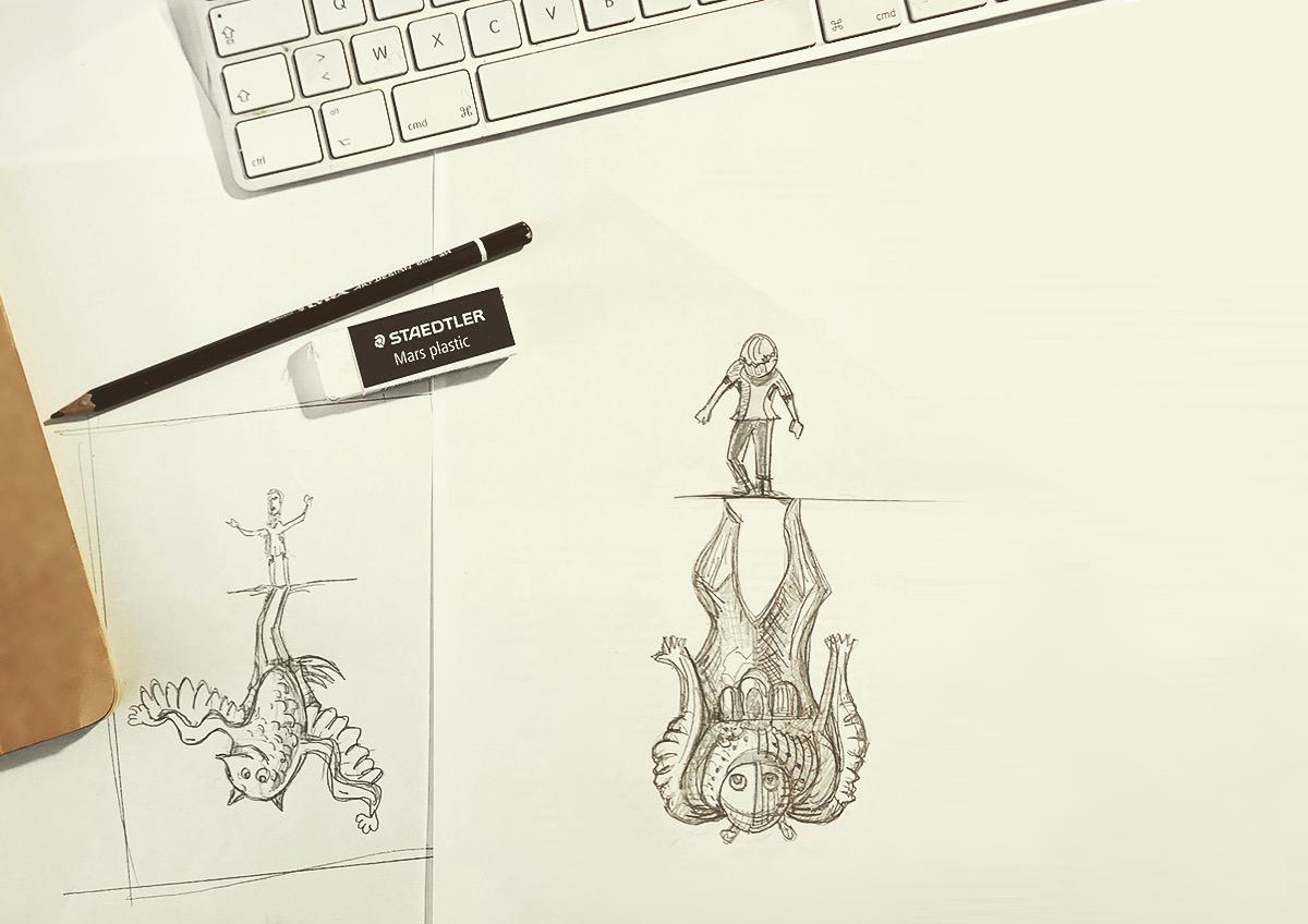 croquis concept Arche Le Sillon par Dezzig